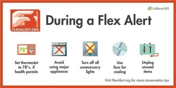 An image of Flex Alert tips