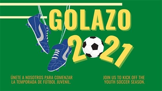A Flyer for Golazo 2021