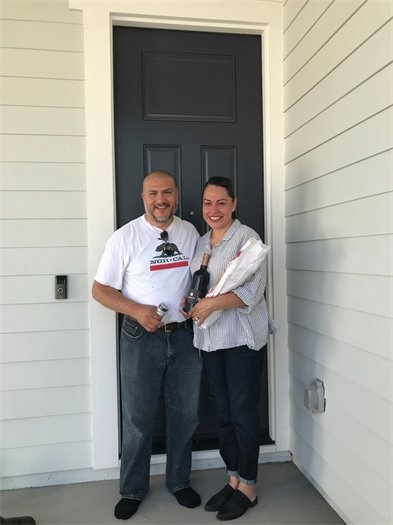 An image of two homeowners
