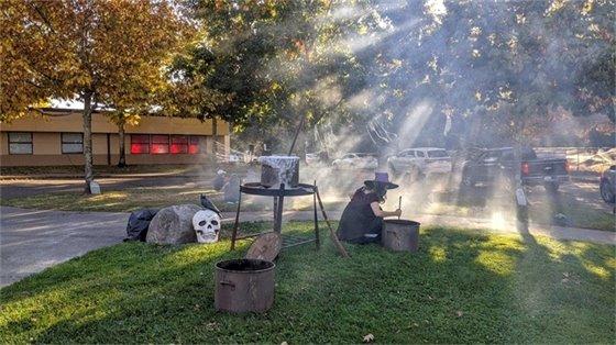 Halloween Drive-Thru Treat Trail