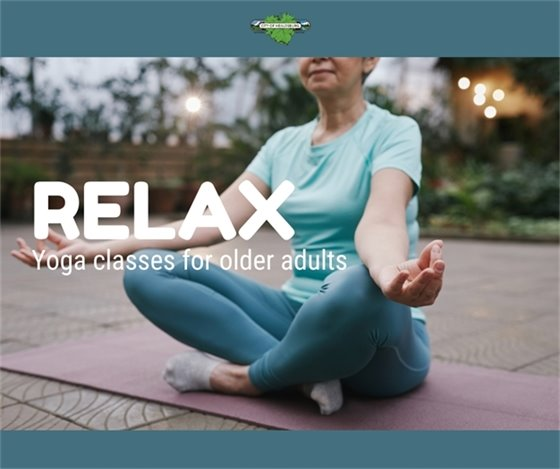 Yoga classes for older adults
