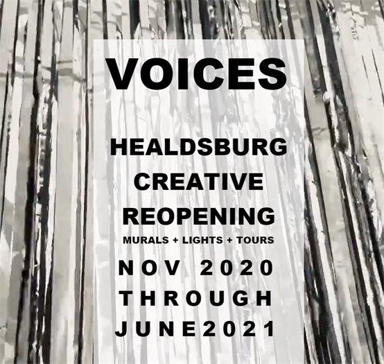 Voices Healdsburg Art Installation