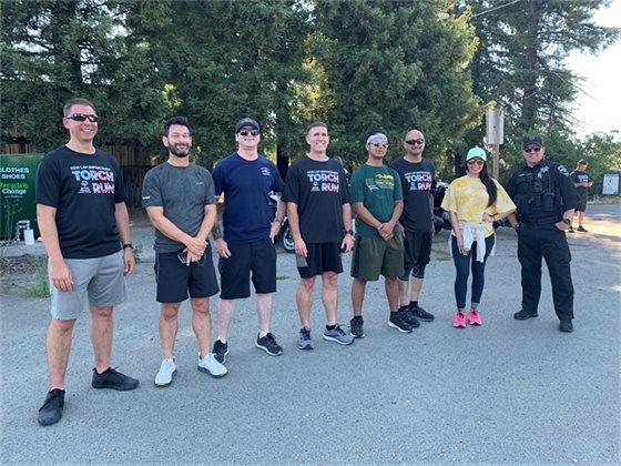 Law Enforcement Torch Run Participants