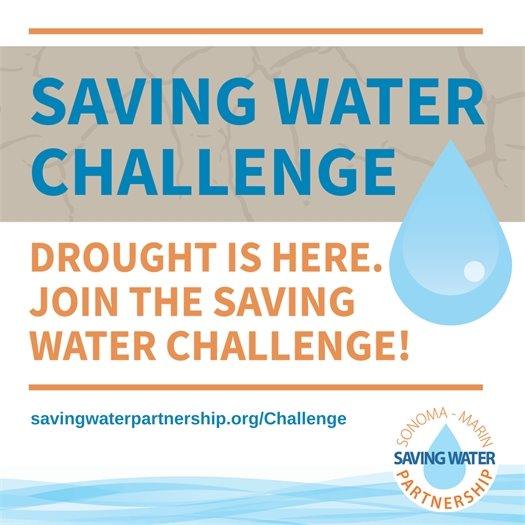 Sonoma Water Saving Poster