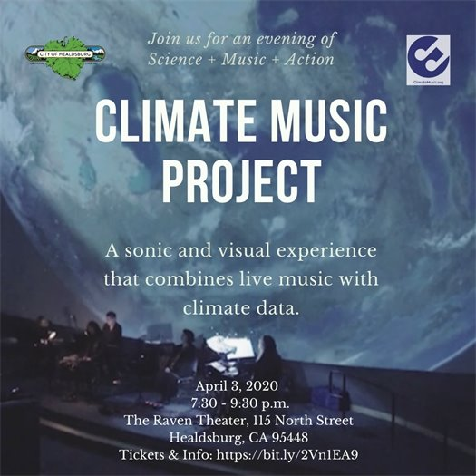 Climate Music Project flyer
