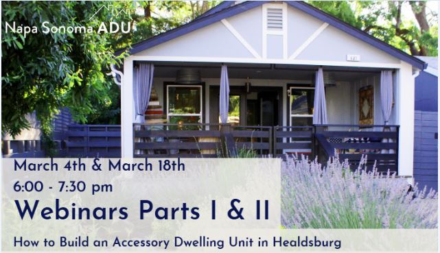 Purple house advertising webinar on accessory dwelling units