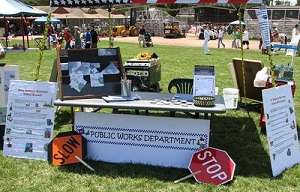 Public Works Booth