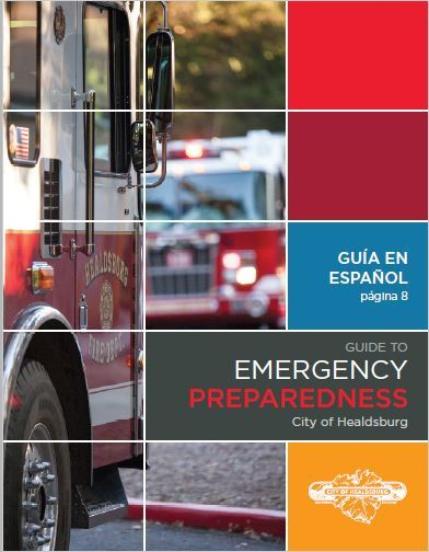 Image of the cover of the Emergency Preparedness Brochure